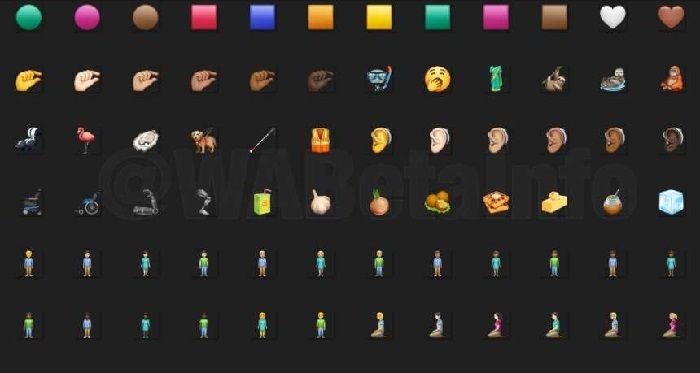 emojis nuevos whatsapp
