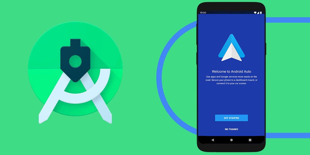 emular android auto con android studio