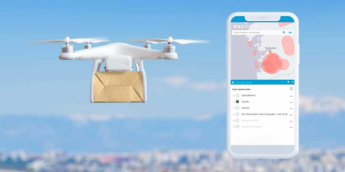 enaire drones aplicacion que te dice donde puedes volor dron espana legalmente