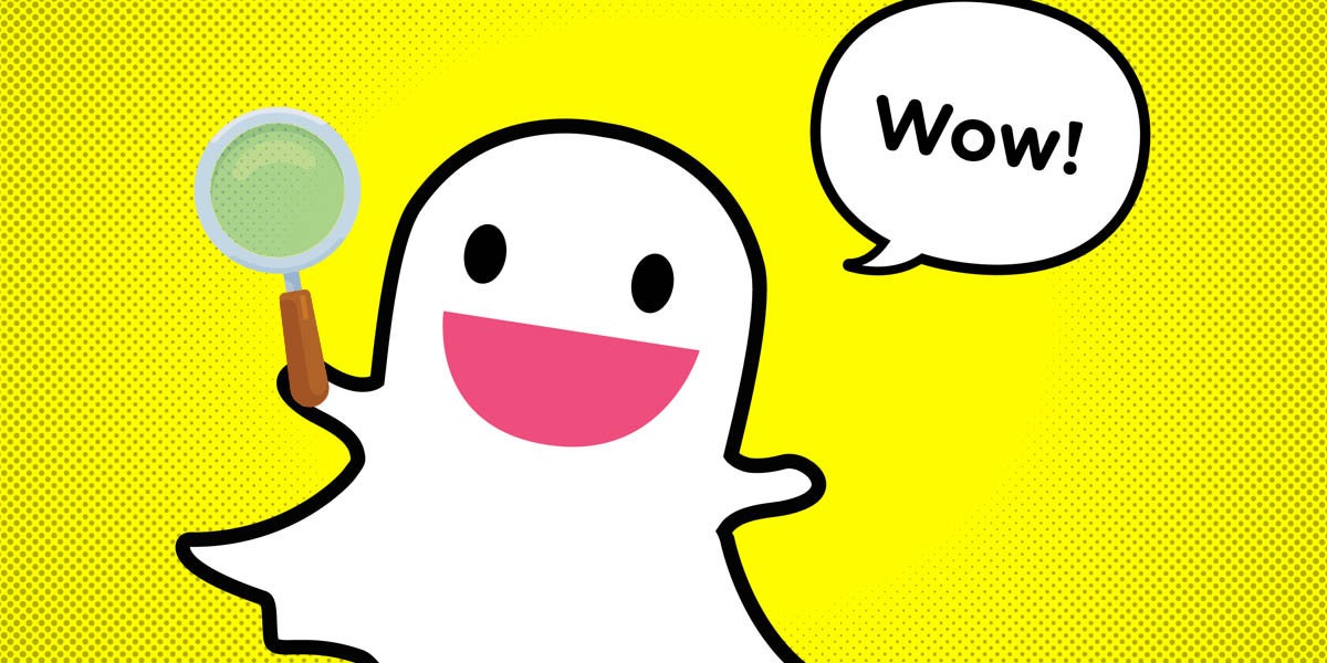 encontrar cualquer filtro o lente para snapchat