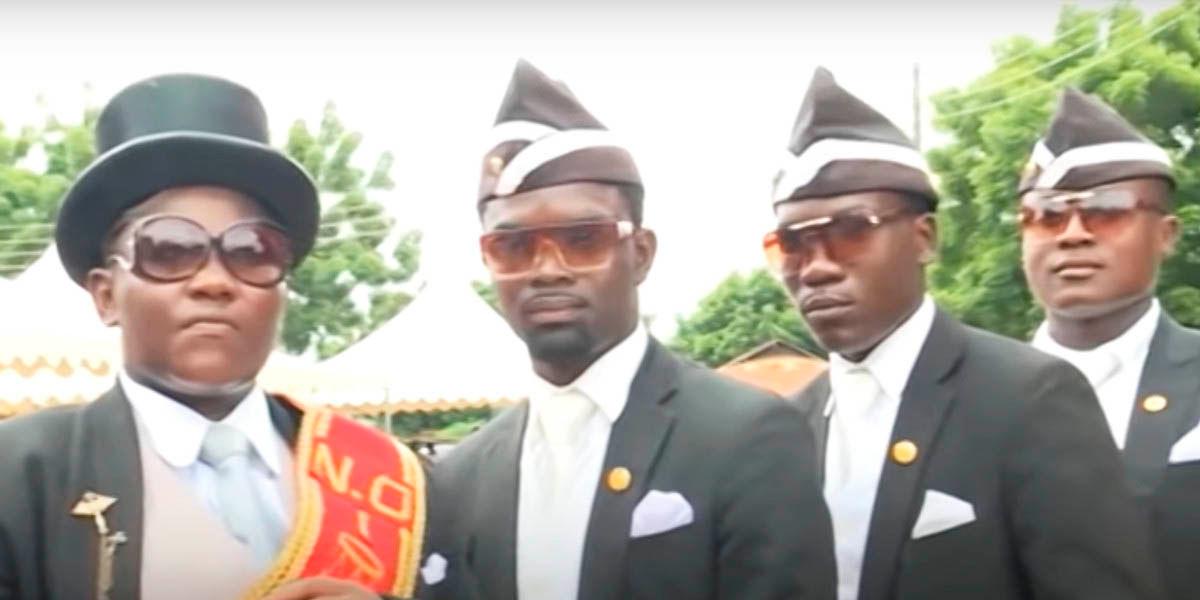 enterradores africanos bailarines meme