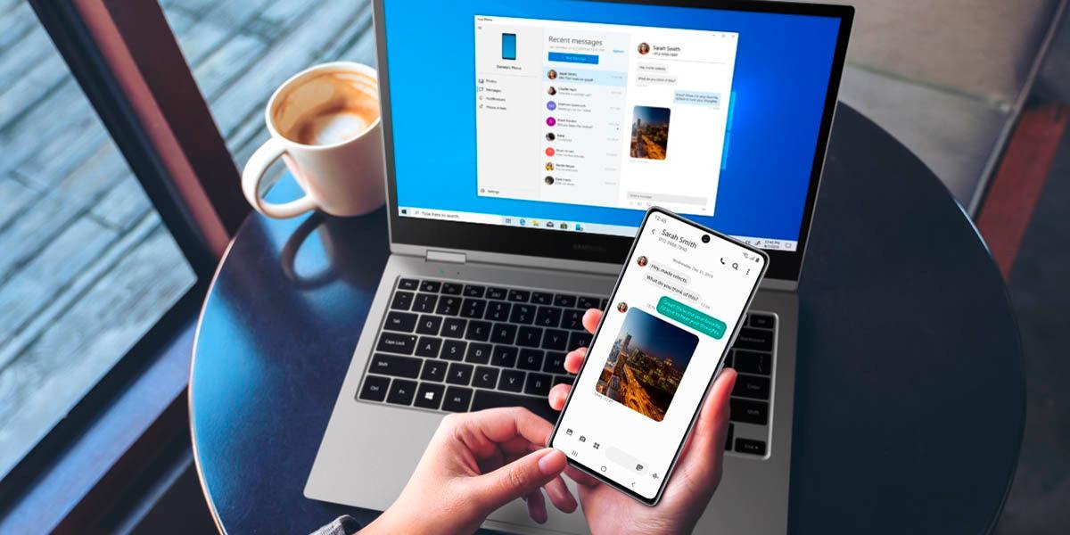 enviar archivos fácilmente desde Samsung Galaxy a Windows 10