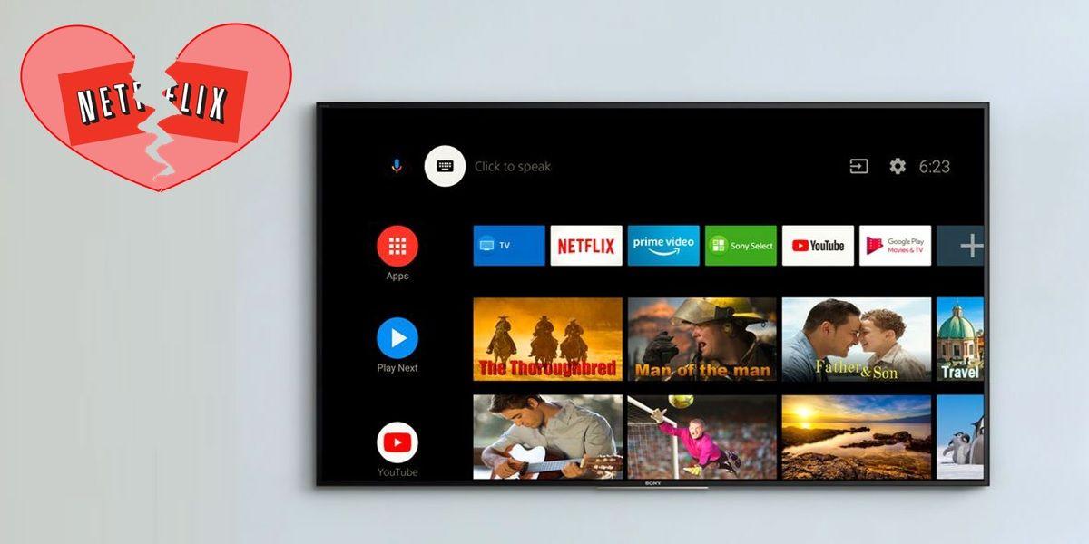 error 118 netflix android tv no permite ver contenido