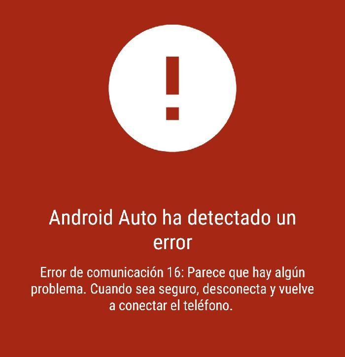 error en android auto xiaomi