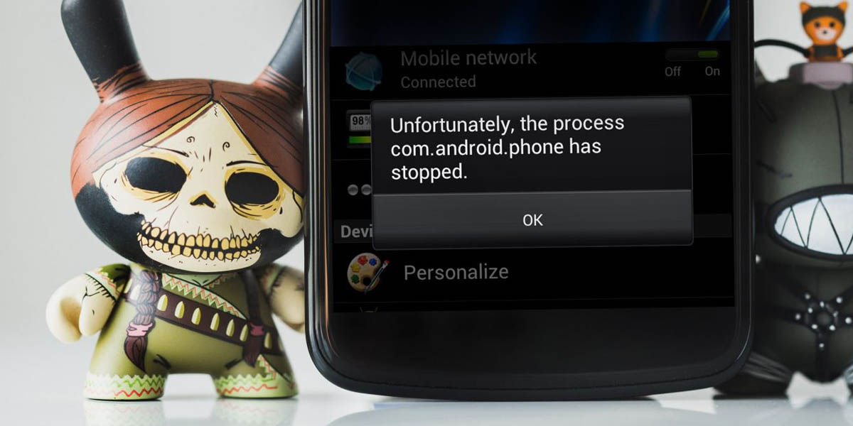 errores de android