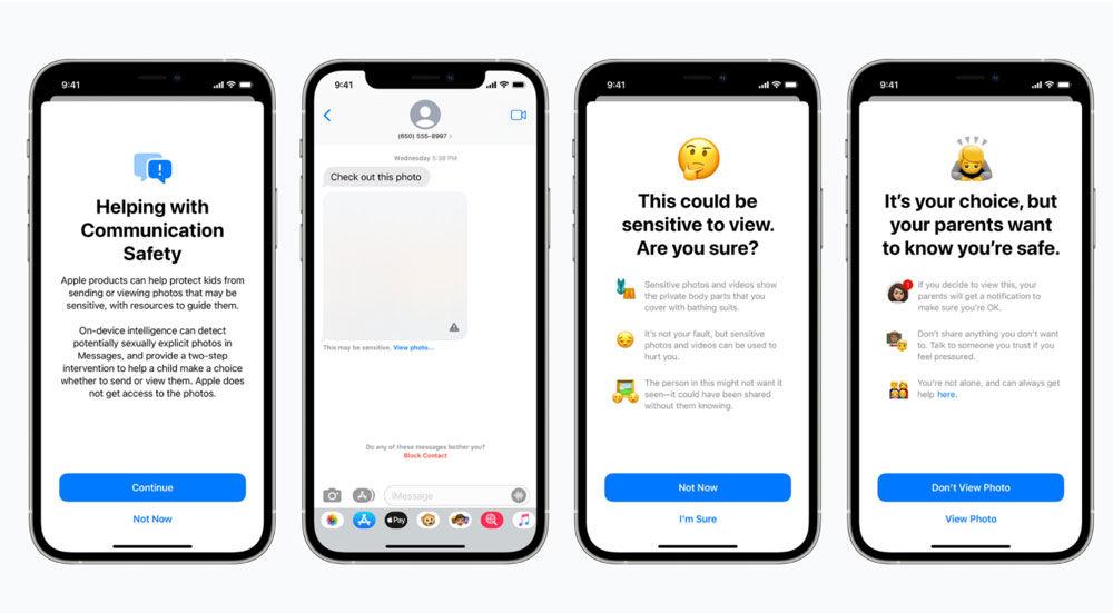 Escaneo mensajes iPhone