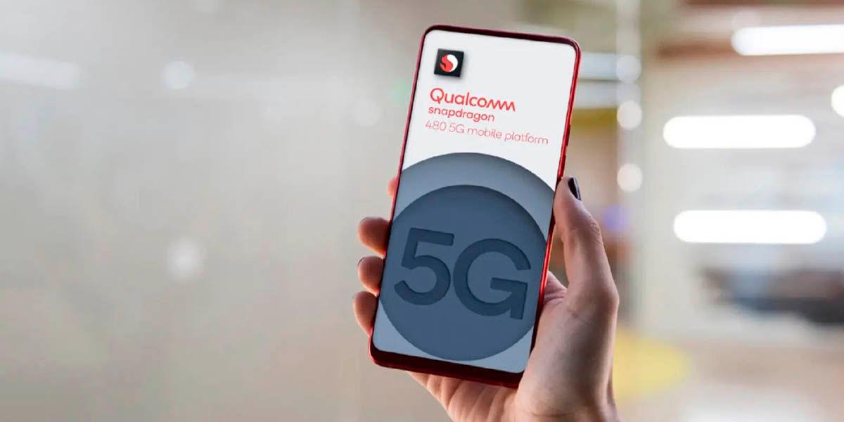 especificaciones snapdragon 480 chip 5G gama baja
