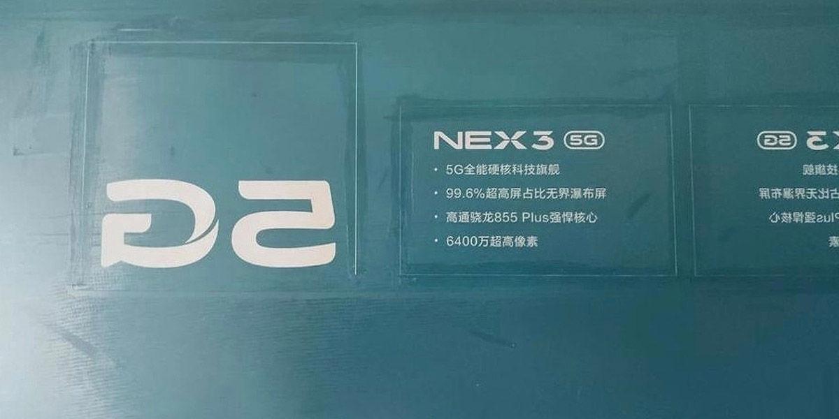 especificaciones vivo nex 3 5g