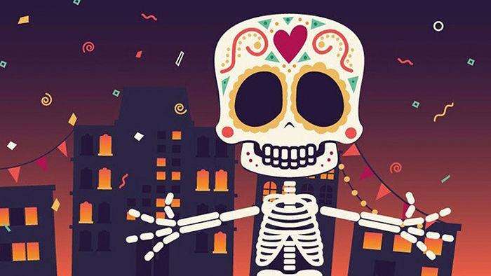 esqueleto loco