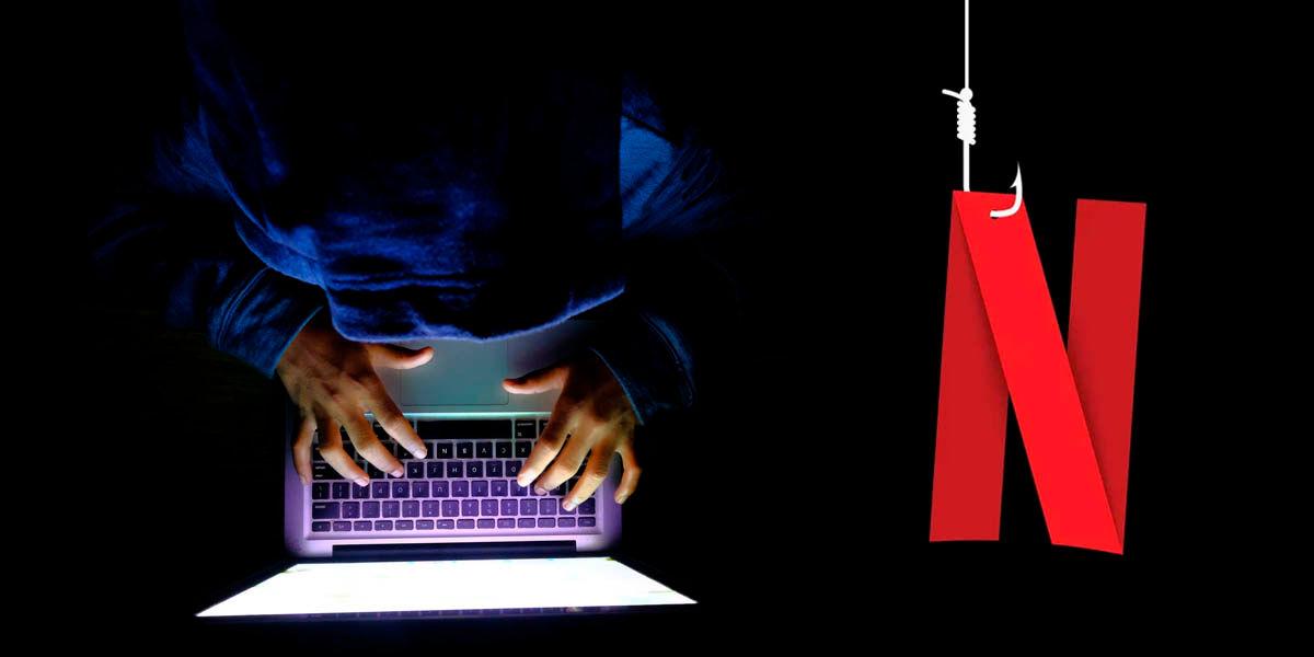estafa correo falso phising netflix