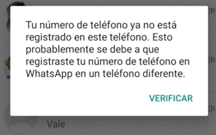 estafa whatsapp cuenta en otro movil