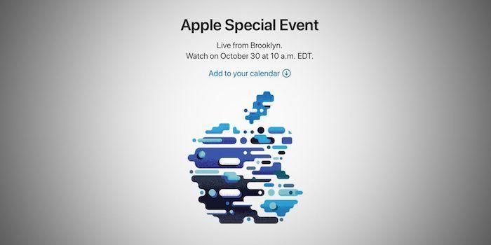 evento apple 30 octubre
