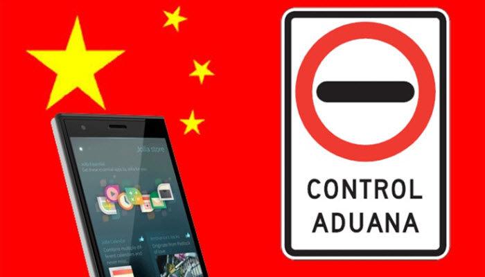 evitar pagar a aduanas al comprar ras un móvil en China