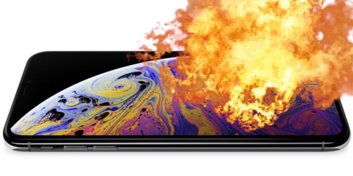 explota iphone xs