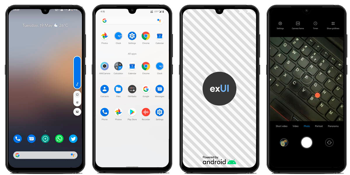 extended ui custom ROM de Android 10 para redmi note 8