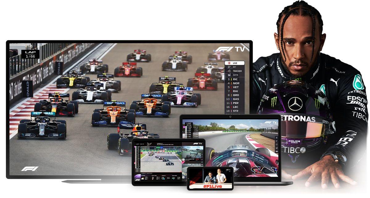 f1 tv app