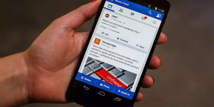 facebook android no funciona