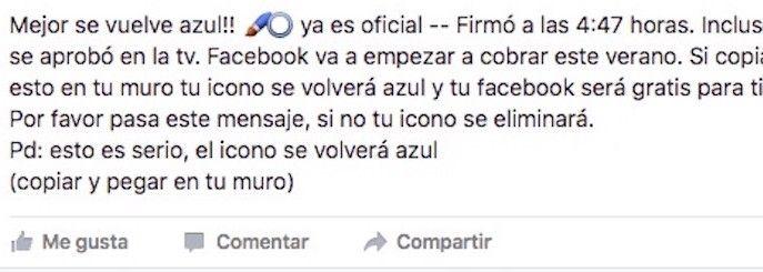 facebook cobrar verano