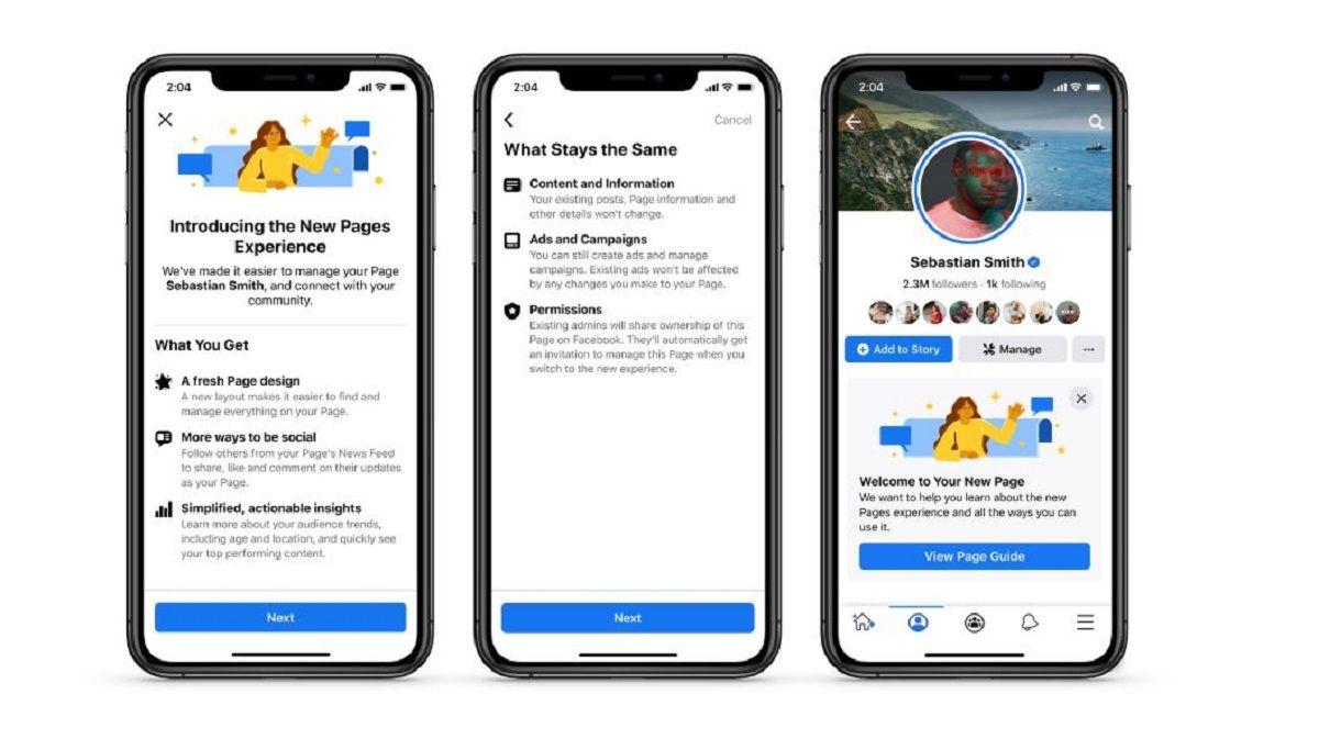 facebook diseño paginas