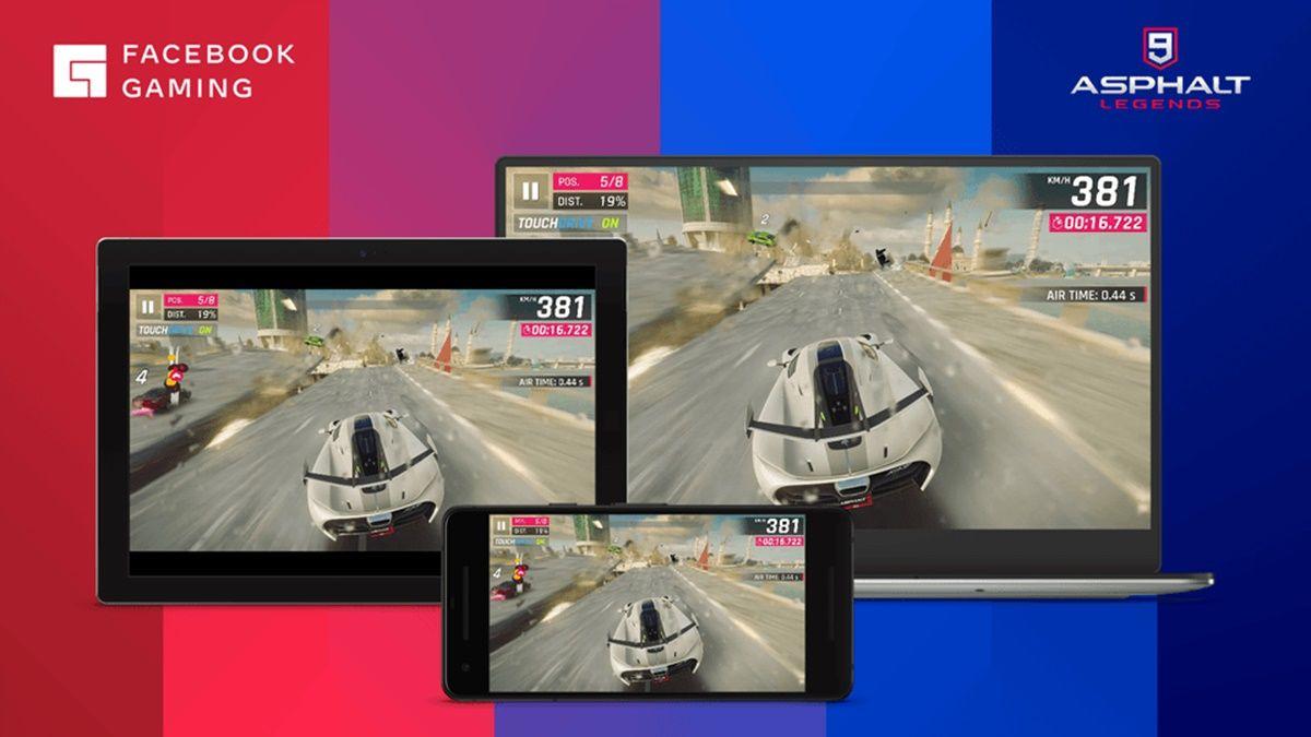 facebook gaming videojuego en la nube