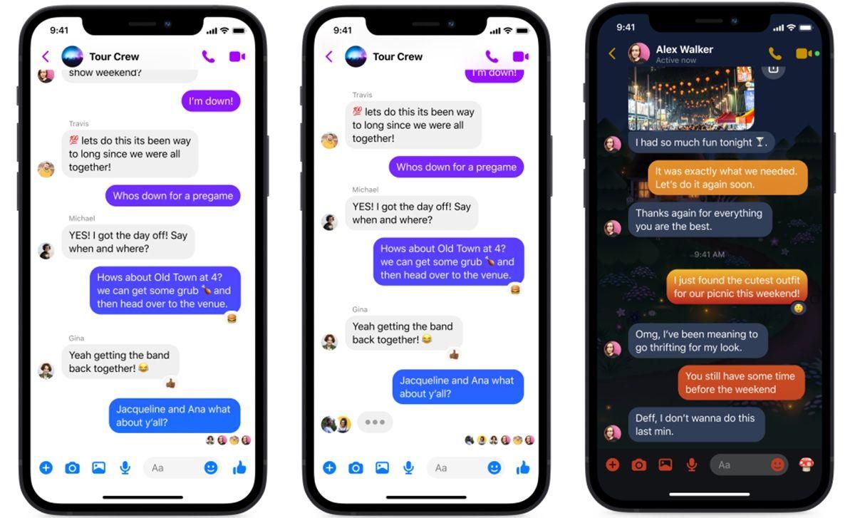 facebook messenger novedades