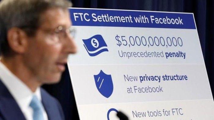 facebook multa 5000 millones