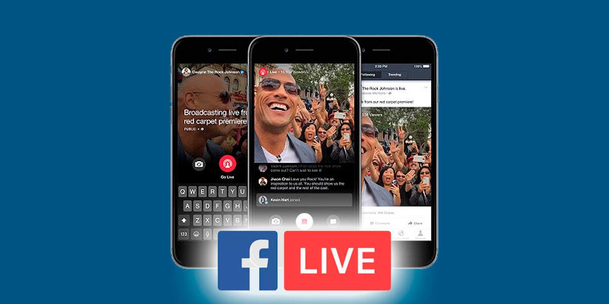 facebook permite hacer directos a todo el mundo sin cuenta