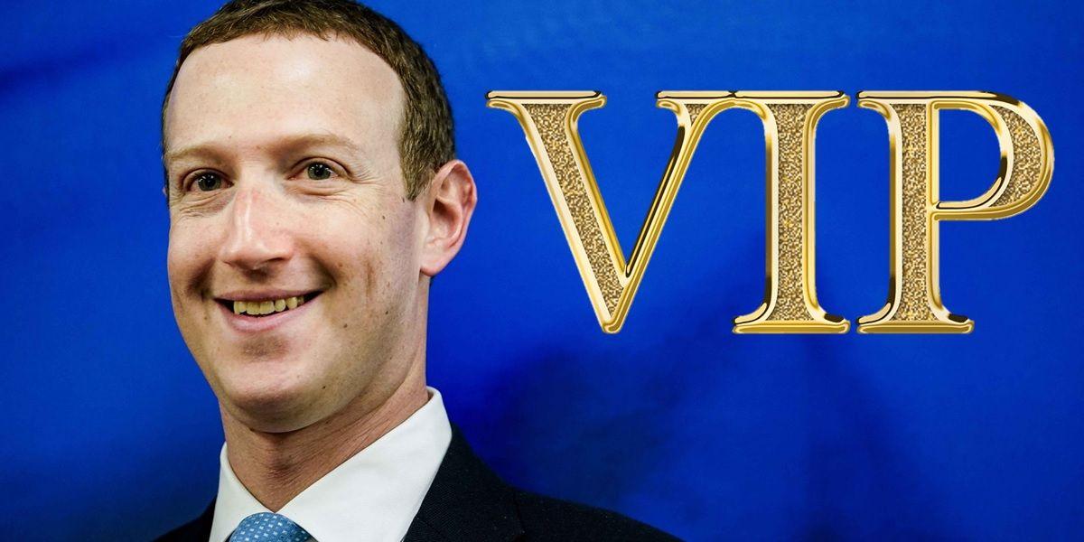 facebook tiene una lista de usuarios vip