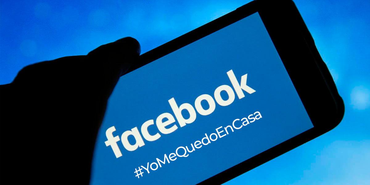 facebook #yomequedoencasa