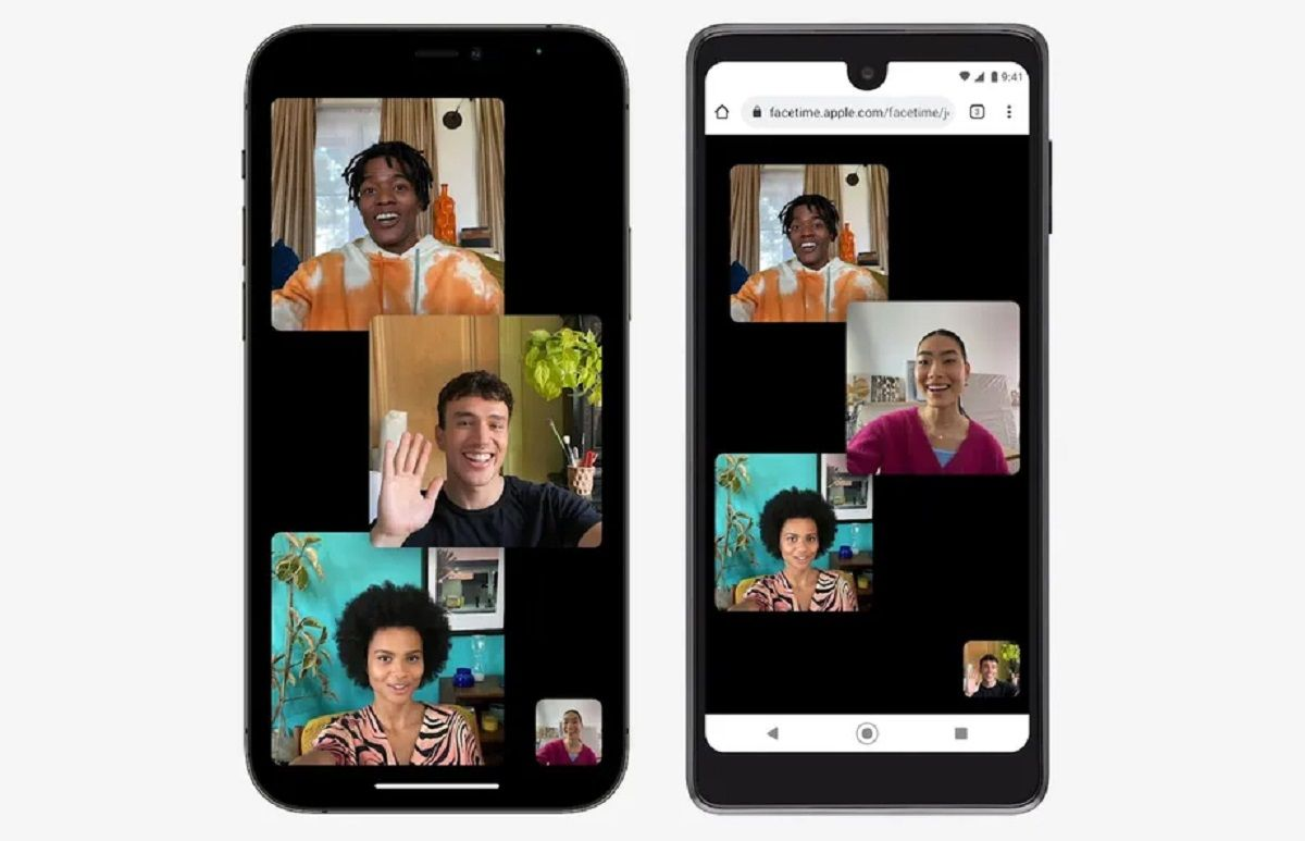 facetime android diseño