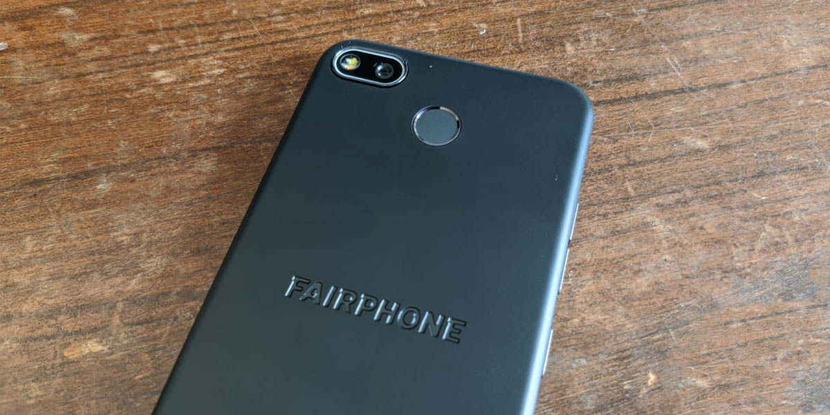 fairphone 3+ cámara