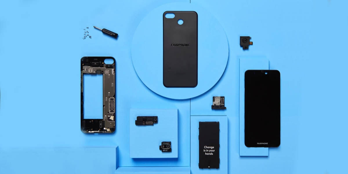 fairphone 3+ diseño modular