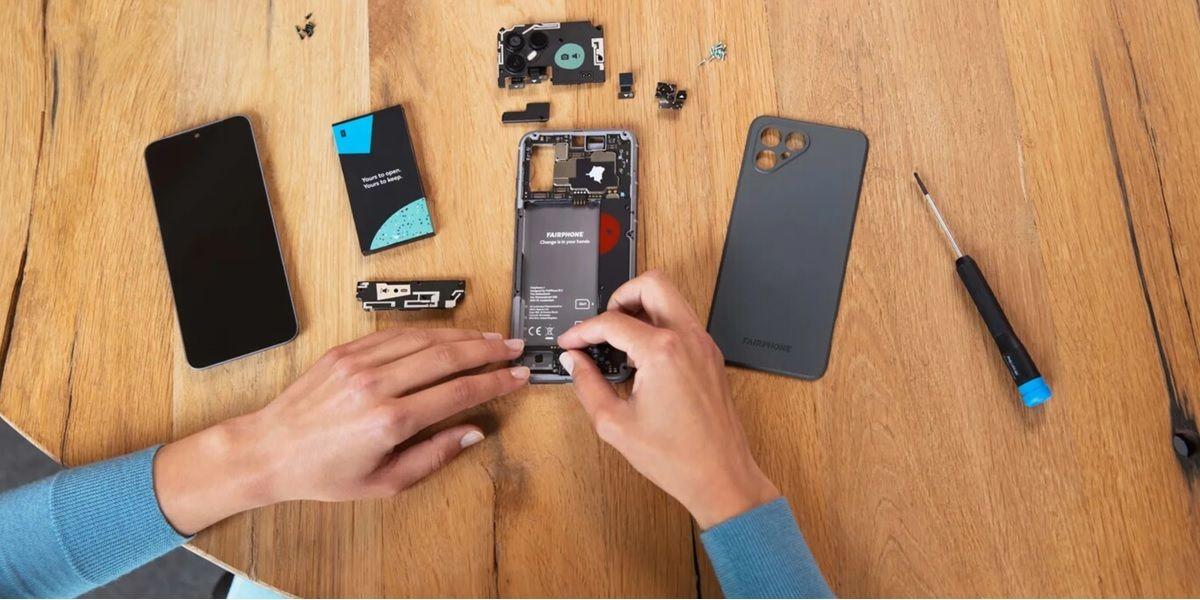 fairphone 4 5g desmontado