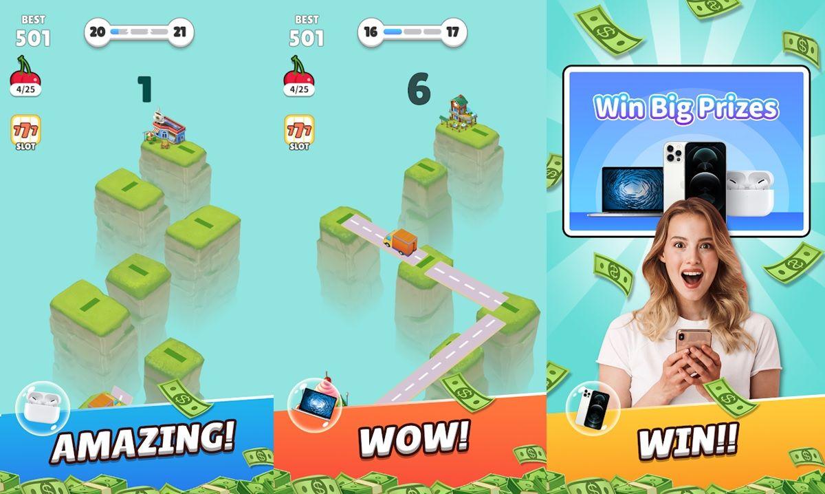 feliz mensajero juego para ganar dinero