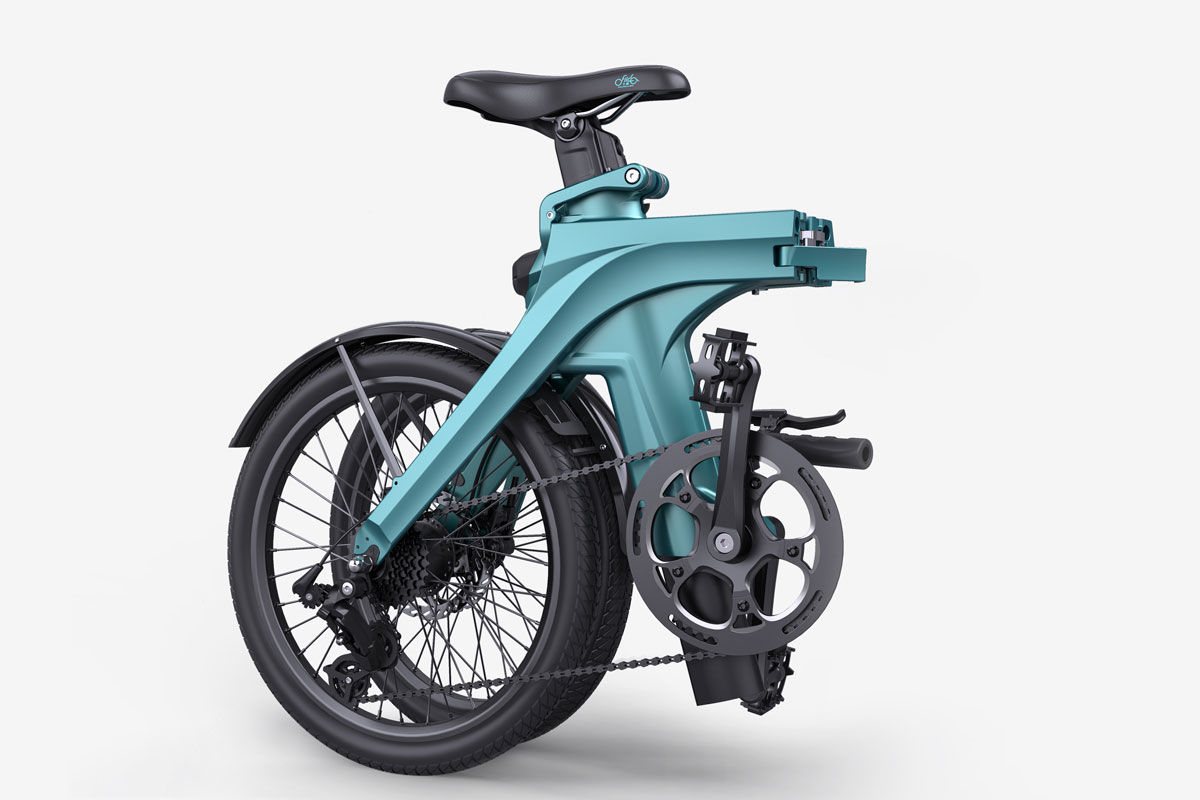 Fiido X bicicleta eléctrica plegable