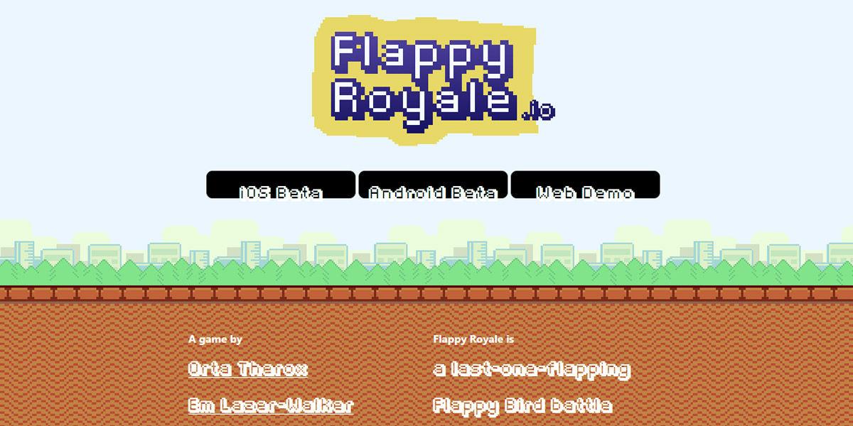 flappy royale en ordenador