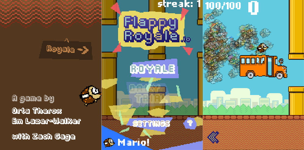 flappy royale jugabilidad