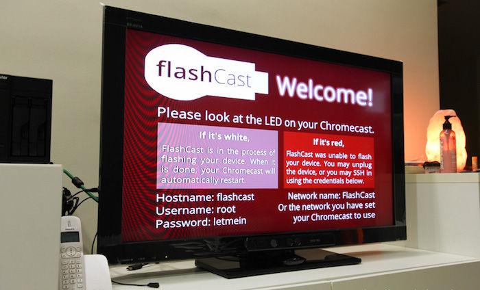 flashcast root chromecast