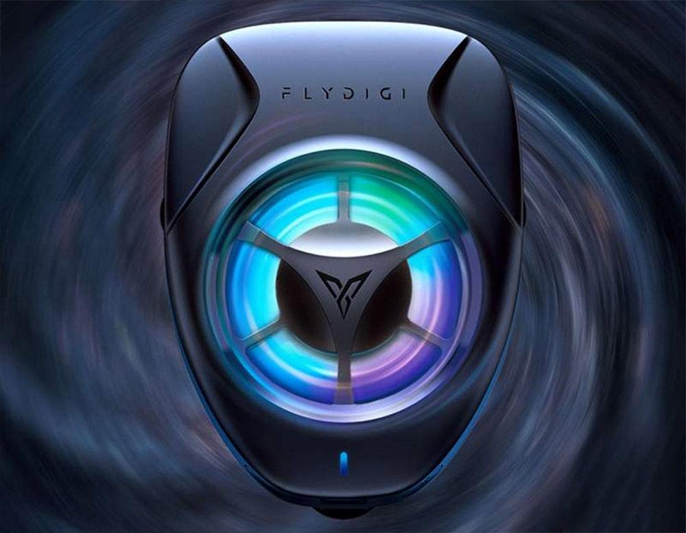 flydigi refrigador ventilador moviles