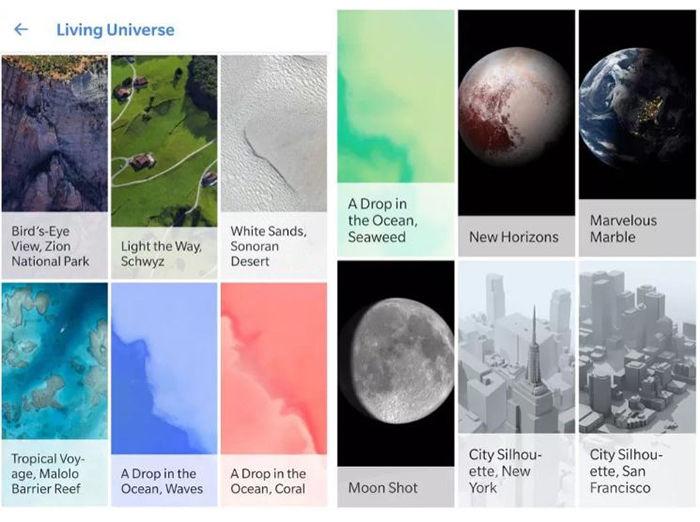 fondos living universe pixel 3 xl