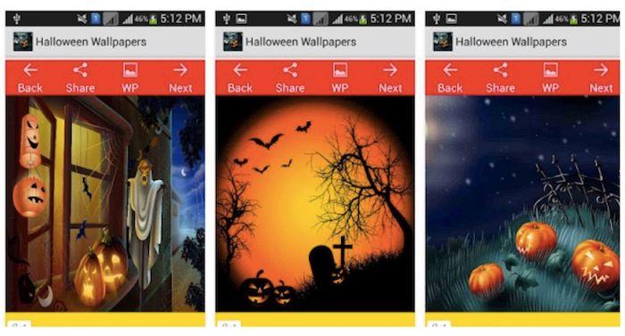 fondos pantalla halloween app