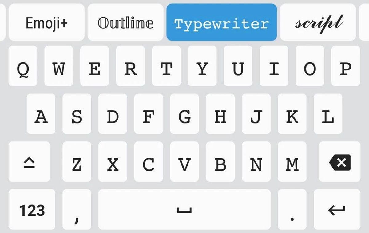 fonts teclado