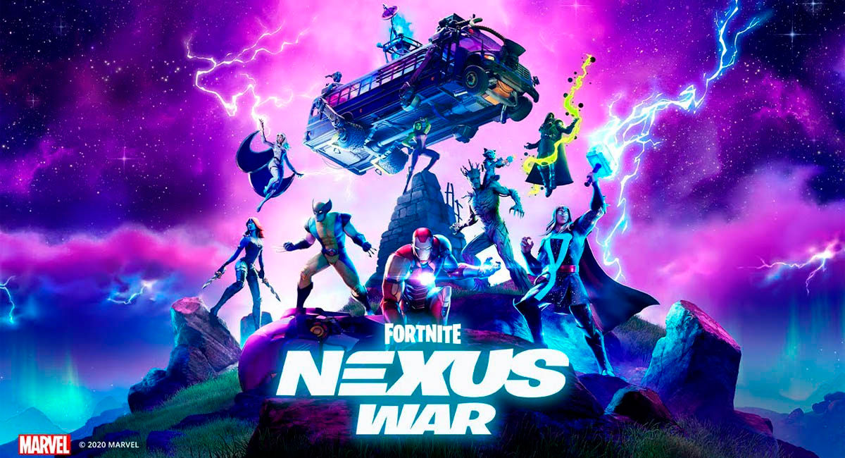 fortnite nexus war temporada 4