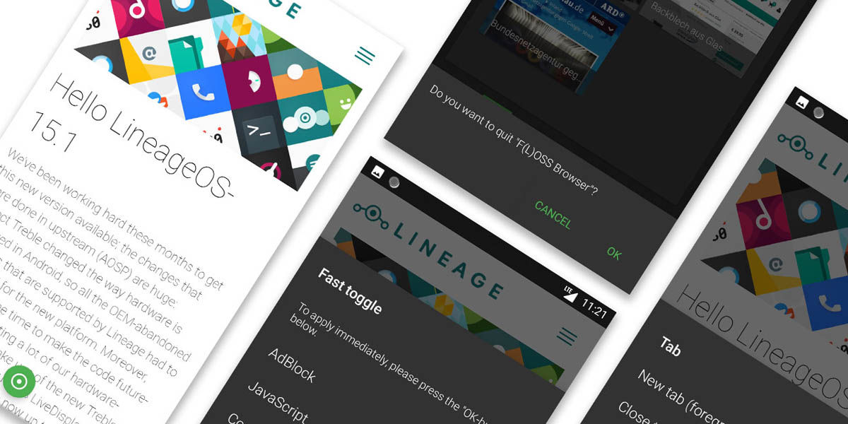 foss browser navegador open source android