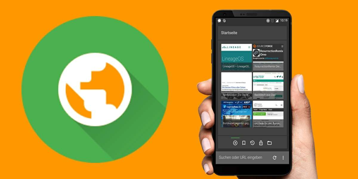foss navegador de codigo libre para android