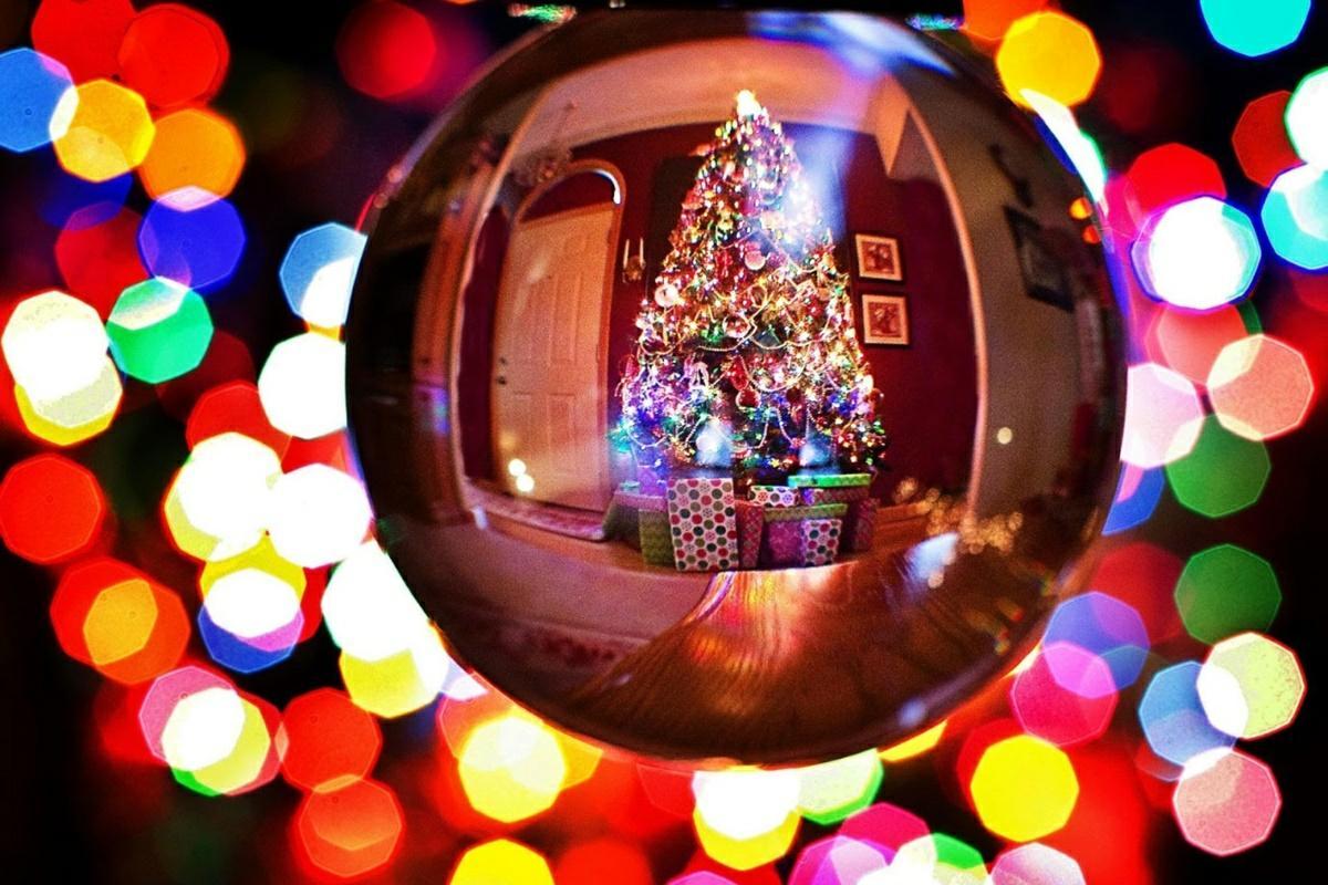 foto navidena con modo retrato