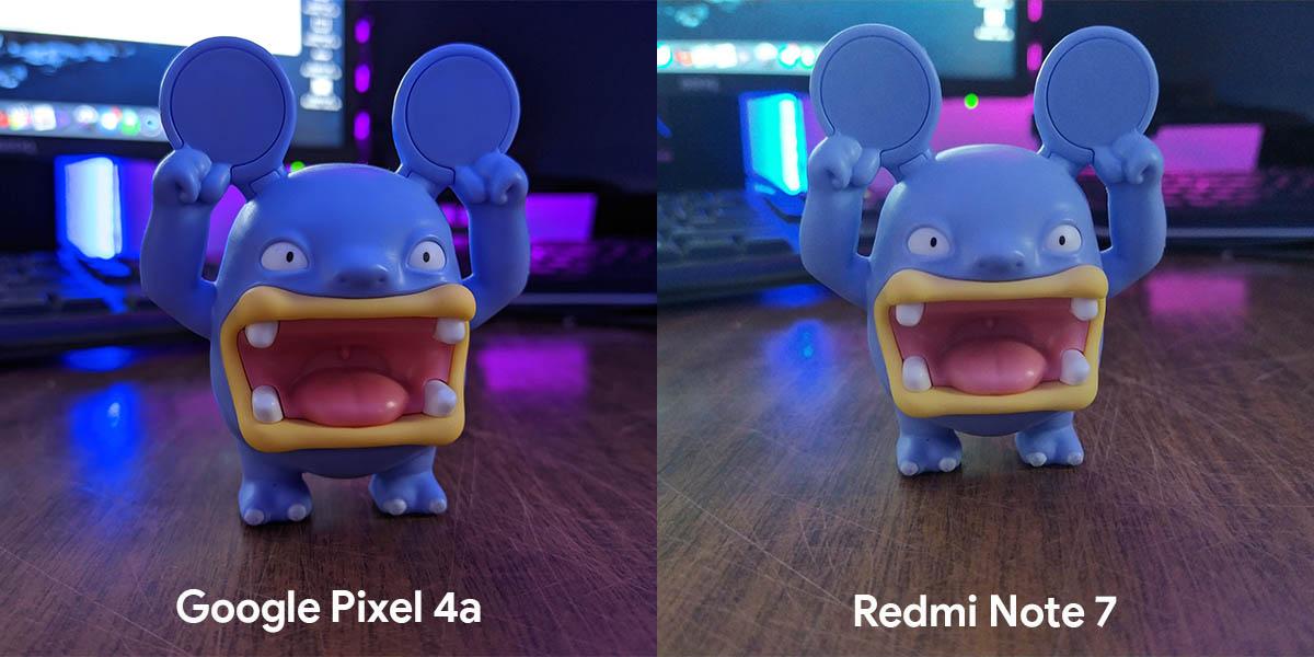 fotografía filtrada pixel 4a gran cámara