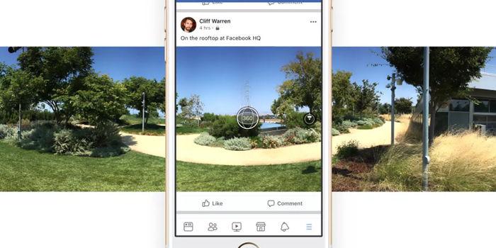 fotos 360 grados facebook usar