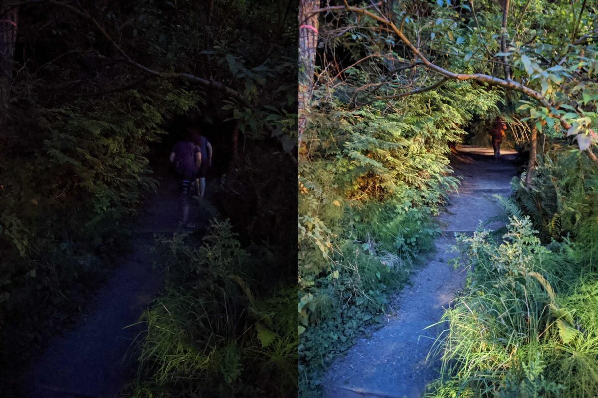fotos tomadas con el pixel 4a con el modo vision nocturna