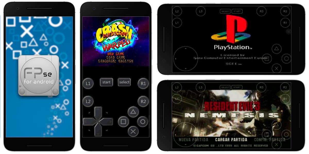 fpse android mejor emulador juegos retro playstation